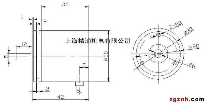 GES38轻载型单圈绝对值编码器, 4—20mA模拟电流信号输出 * 绝对值码盘,内部无电池、不含计数装置,非接触测量码盘,直接绝对位置一一对应读取,无误码率、无累积误差; * 38mm外径轻巧结构设计,可内置于各种设备; * 4-20mA角度位置输出,或1—5V信号,方便的连接接口; * 8mm轴套型或6mm有轴型可选; * 替换电位器、增量编码器的升级产品,提高精度与可靠性; * 各种角度的绝对值位置测量,经济而可靠的方案。 电气参数: