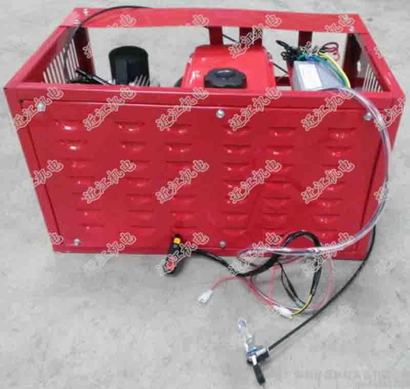 电动三轮车智能增程器发电机 4000W 座桶式不限里程