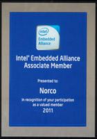 """华北工控""""Intel EA 会员证书"""""""