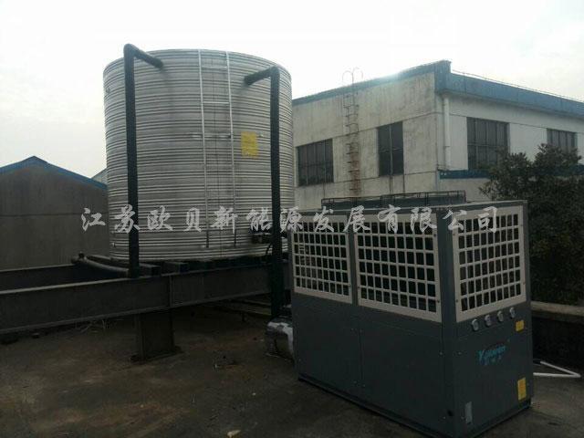 常州常佳金锋动力机械10吨热水工程竣工
