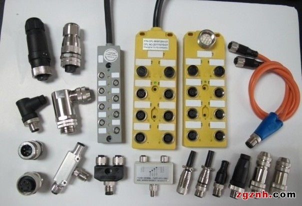 m12插座传感器分线盒 传感器用连接线