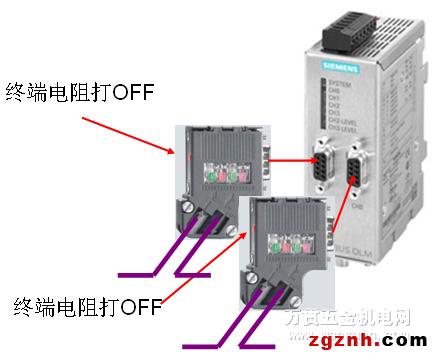 30°电缆引出线的总线接头(经济型)