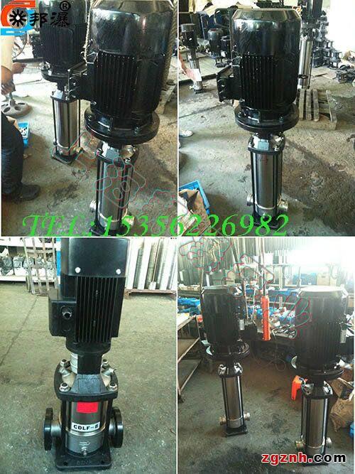 is型清水泵结构型式