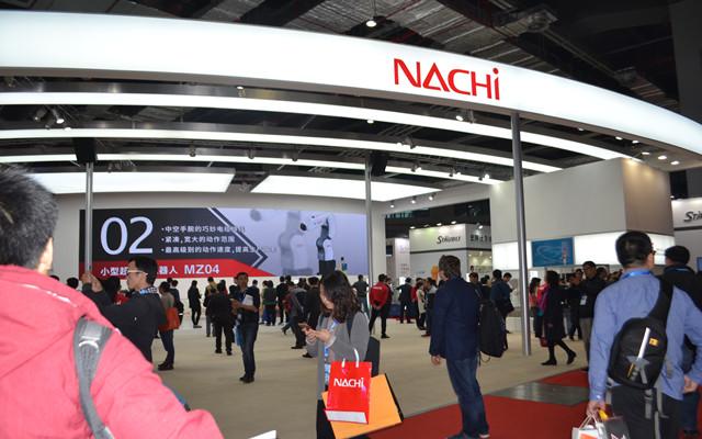 回首工博会:NACHI机器人隆重登场工博会 (6)