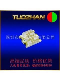 深圳优质厂家0805红蓝双色贴片LED灯珠发光二极管