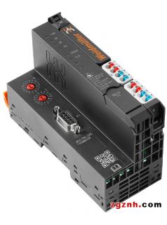 魏德米勒u-remote DeviceNet及CANopen现场总线耦合器