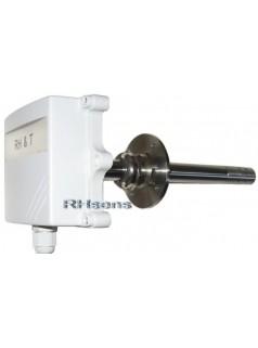 管道法兰安装温湿度变送器HTA583