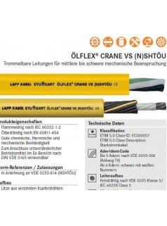 供应LAPPKABEL-VS (N)SHTOU卷筒电缆