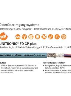 供应UNITRONIC FD CP plus电缆