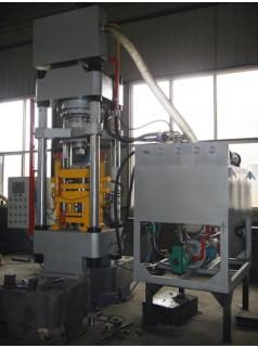 鑫源高效能全自动粉末液压机确保设备生产率S