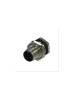 宜科电子ELCO:现场接线式I/O连接器-直线孔端M8(F)