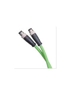 宜科电子ELCO:预注自动化总线连接器-ProfiNet M12/M12(针)双端预注电缆