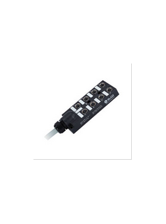 宜科电子ELCO:分线盒-塑料(ECP8系列M12接口-直接出线型) - 电磁阀专用