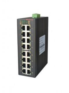 MIE-5420 16FE+4GSFP卡轨式千兆网管型工业以太网交换机