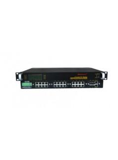 Cronet CC-3424 24FE+4GSFP机架式三层工业以太网交换机