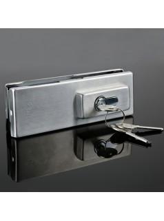 深圳玻璃门地锁门夹拉手安装维修服务
