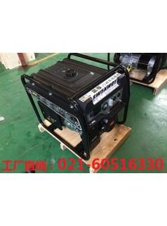 低耗油5kw电启动汽油发电机