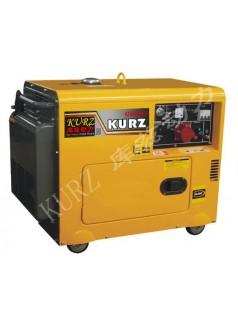 低噪音5KW柴油发电机库兹厂家
