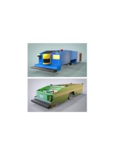 激光导航AGV、物流搬运机器人、AGV小车