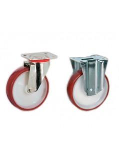 意大利Tellure Rota进口AGV穿梭车RGV定向轮铸钢万向脚轮
