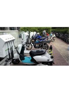 小绿人电动自行车智能充电站 充满断电 不会弄坏电池