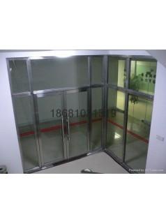 台山鹤山不锈钢防火门价格480元防火玻璃门价格
