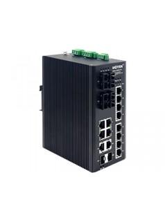UTEK宇泰科技16+2G光电复用POE以太网交换机