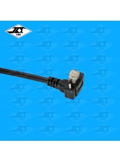 GIGE 90度弯头网线|JAT 灰点工业相机CCD千兆接口