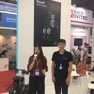 中国智能装备展首日,中国智能化网视频采访忙