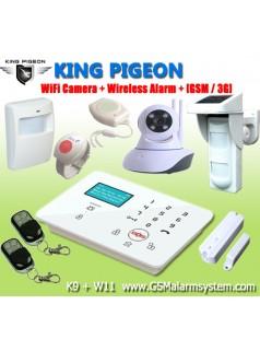 CID报警器  GSM报警器  短信报警器  K9