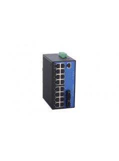 Maiwe迈威 18口二层百兆网管型卡轨式工业以太网交换机 ()