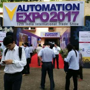 美控自动化亮相印度国际工业自动化展