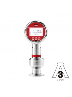 LEEG立格仪表SMP858-TSF卫生型压力变送器-3A认证-高温高过载卡箍绝压测量