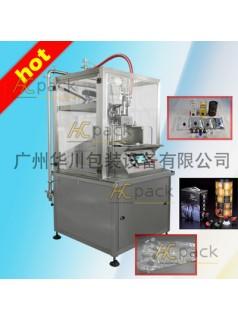 厂家直销广州华川酸奶无菌盒中袋灌装机