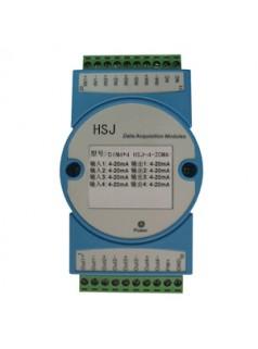 16路,4-20MA/0-5V转RS232采集模块