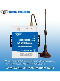 4G DTU 短信猫 内置看门狗 RS485/232双串口 无线数据传输