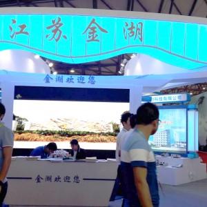 金湖多家仪器仪表企业联合亮相2017上海多国展