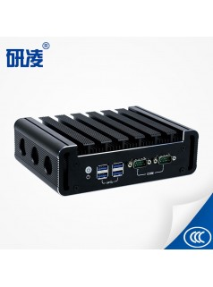 研凌酷睿I5 6200U家用办公小主机高清双显HTPC迷你电脑