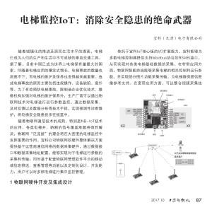 电梯监控IoT:消除安全隐患的绝命武器 (3)