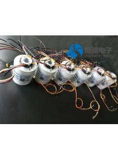 胜途电子转台滑环 低电阻 低线速旋转平稳
