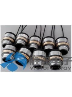 抗干扰无粉尘防水导电滑环 大电流过孔导电滑环
