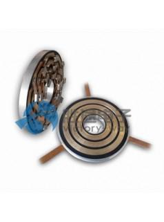 胜途电子盘式滑环采用特殊的真空灌注工艺 同心滑环
