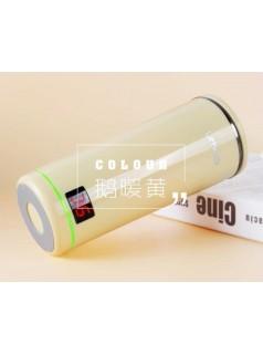 这个高颜值的智能水杯可以实时显示水温并提醒你喝水