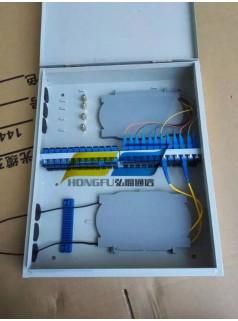 室外抱杆式32芯光纤分线箱