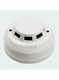 220V有线联网烟感探测器/继电器常开常闭感烟探测器