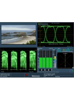 WVR8300 和 WVR8200波形监测仪,电视信号发生器