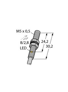 图尔克TURCK电感式传感器BI1-EG05-AN6X