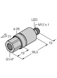 图尔克TURCK压力传感器 PC001R-201-2UPN8X-H1141