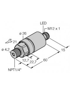 图尔克TURCK压力传感器PC001R-203-2UPN8X-H1141