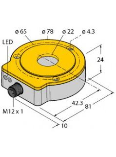 图尔克TURCK非接触式编码器RI360P0-QR24M0-0360X2-H1181